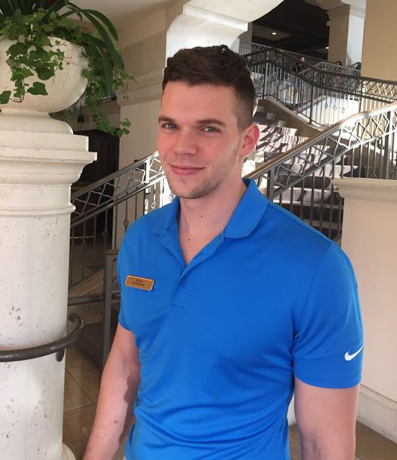 Adam at Rosen Shingle Creek