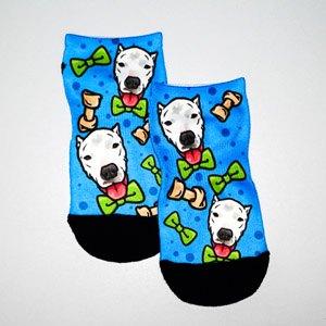 Adam Michael Rosen Foundation Sammy Ankle Blue Sock